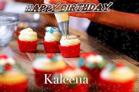 Happy Birthday Kaleena Cake Image