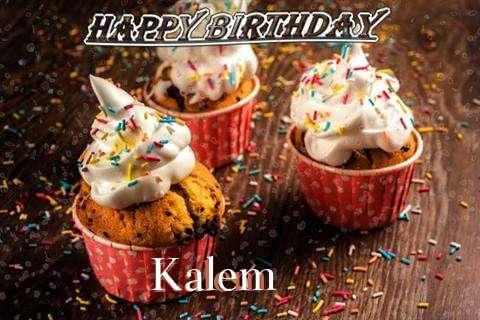 Happy Birthday Kalem Cake Image