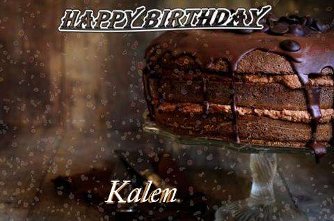 Happy Birthday Cake for Kalen