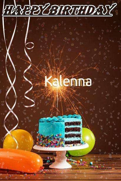 Happy Birthday Cake for Kalenna
