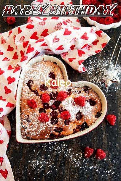 Happy Birthday Kaleo Cake Image