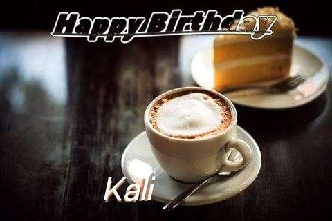 Happy Birthday Wishes for Kali