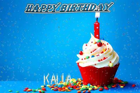 Happy Birthday Wishes for Kalia