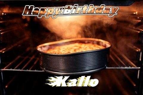 Happy Birthday Wishes for Kallo