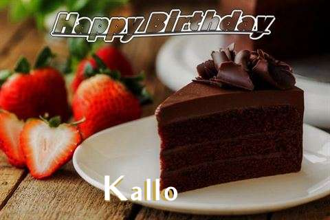 Happy Birthday to You Kallo