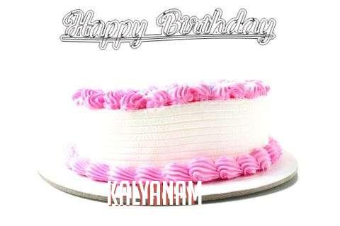 Happy Birthday Wishes for Kalyanam