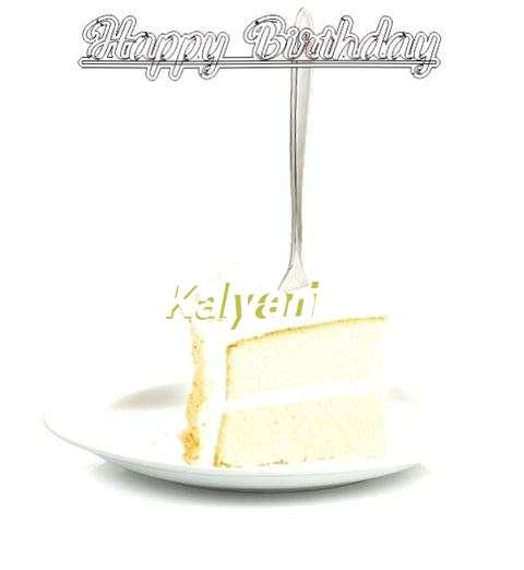 Happy Birthday Wishes for Kalyani