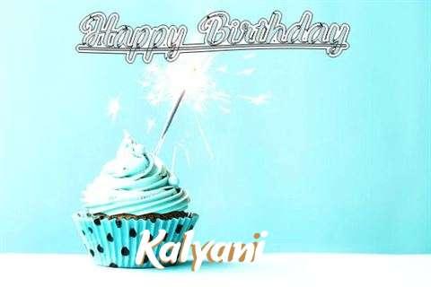 Happy Birthday Cake for Kalyani