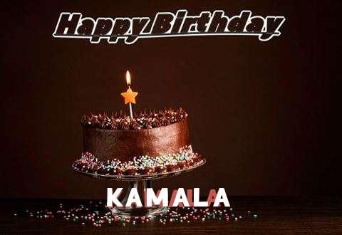 Happy Birthday Cake for Kamala