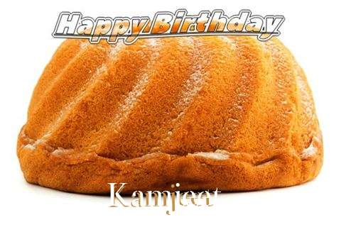Happy Birthday Kamjeet Cake Image