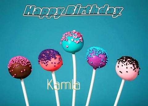 Birthday Wishes with Images of Kamla