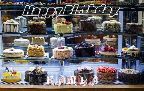 Happy Birthday Kamla Cake Image