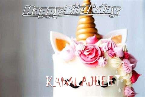 Happy Birthday Kamlajeet Cake Image