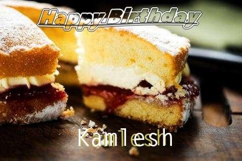 Happy Birthday Cake for Kamlesh
