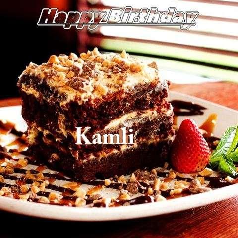 Happy Birthday Cake for Kamli