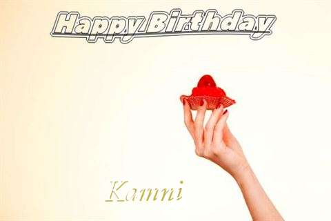 Happy Birthday to You Kamni