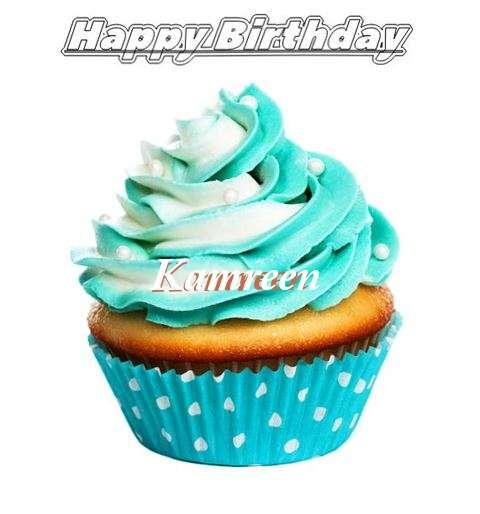 Happy Birthday Kamreen Cake Image