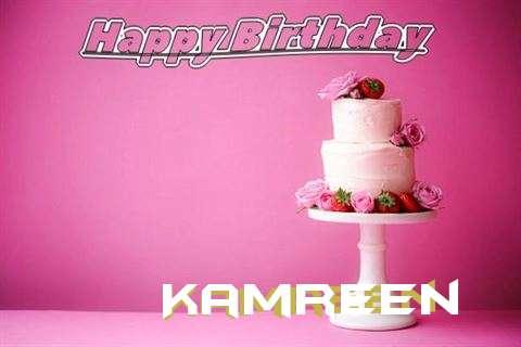 Happy Birthday Wishes for Kamreen