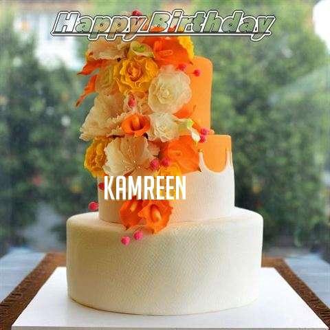 Happy Birthday Cake for Kamreen