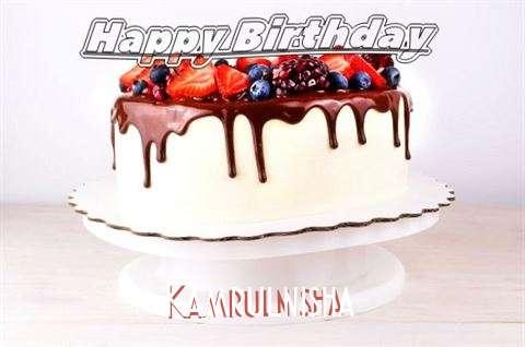 Birthday Wishes with Images of Kamrulnisha