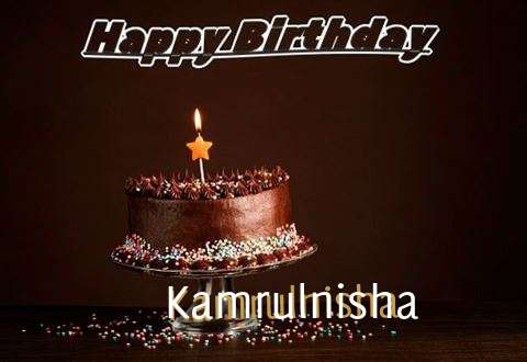 Happy Birthday Cake for Kamrulnisha