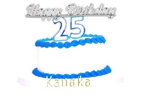 Happy Birthday Kanaka Cake Image