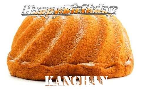 Happy Birthday Kanchan Cake Image