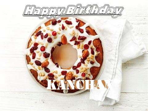 Happy Birthday Cake for Kanchan