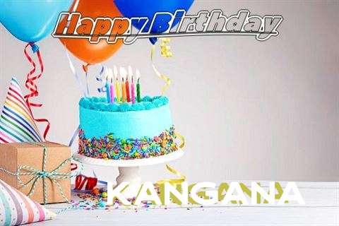 Happy Birthday Kangana Cake Image