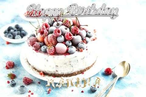 Happy Birthday Cake for Kaniha