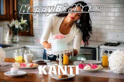 Happy Birthday Kanti Cake Image