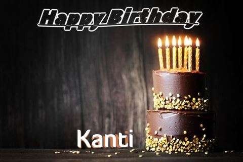 Happy Birthday Cake for Kanti