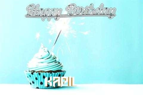 Happy Birthday Cake for Kapil