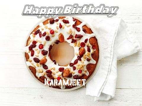 Happy Birthday Cake for Karamjeet