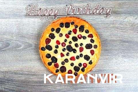 Happy Birthday Cake for Karanvir