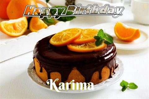 Happy Birthday to You Karima