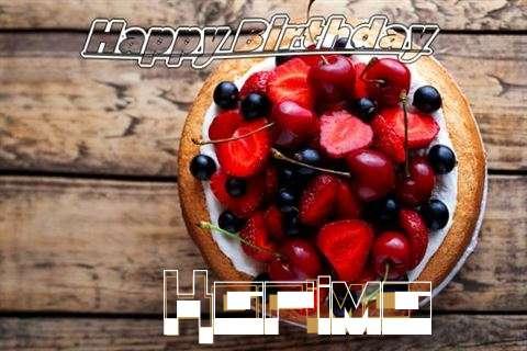 Happy Birthday Cake for Karima