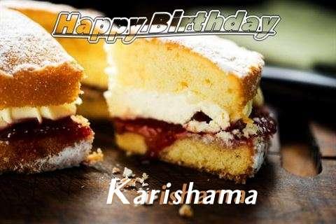 Happy Birthday Cake for Karishama