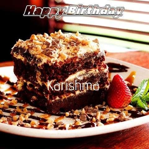 Happy Birthday Cake for Karishma