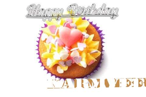 Happy Birthday Karmveer Cake Image