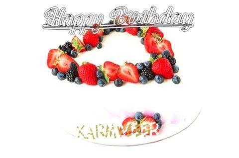 Happy Birthday Cake for Karmveer