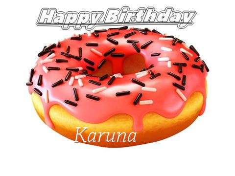 Happy Birthday to You Karuna