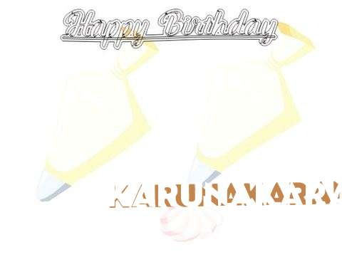 Birthday Wishes with Images of Karunakaran