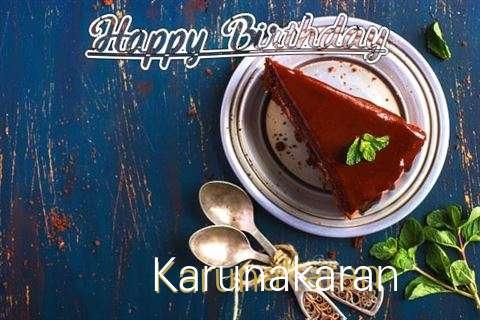 Happy Birthday Karunakaran Cake Image