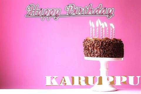 Happy Birthday Cake for Karuppu