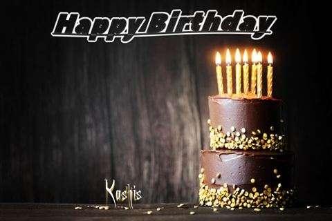 Happy Birthday Cake for Kashis