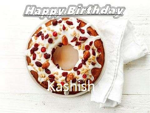 Happy Birthday Cake for Kashish