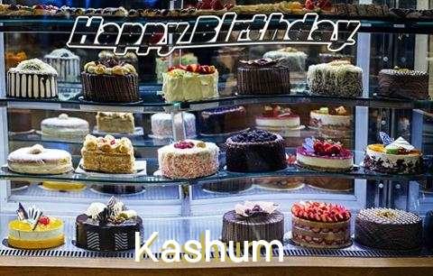 Happy Birthday Kashum Cake Image