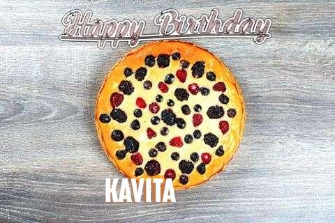 Happy Birthday Cake for Kavita