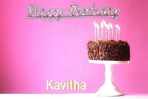 Happy Birthday Cake for Kavitha
